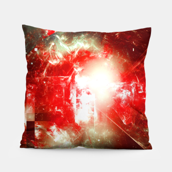 Thumbnail image of Shattered Space Pillow, Live Heroes