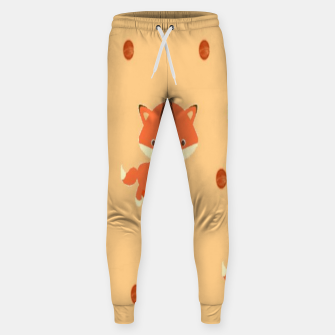 Thumbnail image of Foxes and dots Sweatpants, Live Heroes
