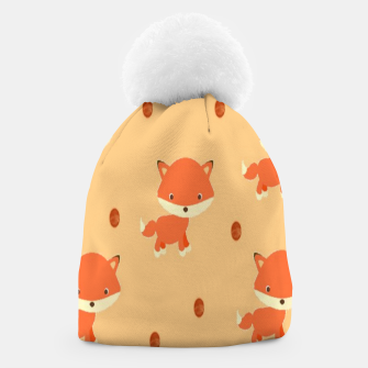Thumbnail image of Foxes and dots Beanie, Live Heroes