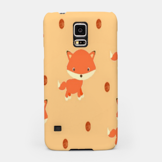 Thumbnail image of Foxes and dots Samsung Case, Live Heroes