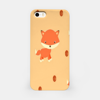 Thumbnail image of Foxes and dots iPhone Case, Live Heroes