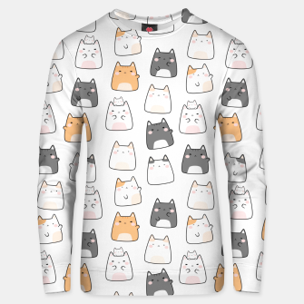 Thumbnail image of Pretty Kitty Pattern Unisex sweater, Live Heroes