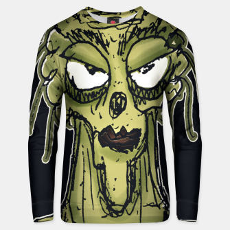 Thumbnail image of Ugly Monster Portrait Drawing Unisex sweater, Live Heroes