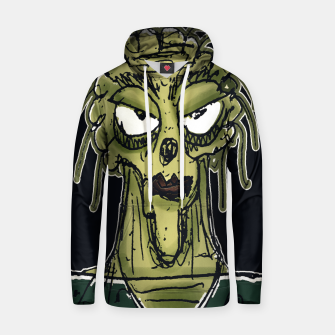 Thumbnail image of Ugly Monster Portrait Drawing Hoodie, Live Heroes