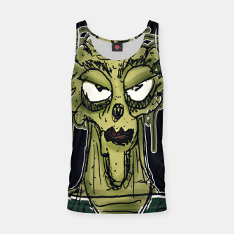 Thumbnail image of Ugly Monster Portrait Drawing Tank Top, Live Heroes
