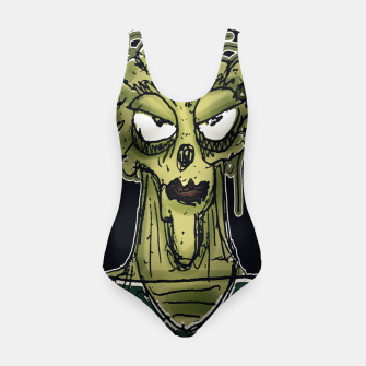 Thumbnail image of Ugly Monster Portrait Drawing Swimsuit, Live Heroes