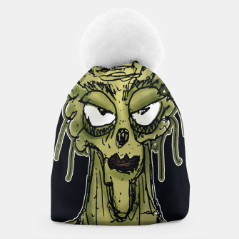 Thumbnail image of Ugly Monster Portrait Drawing Beanie, Live Heroes