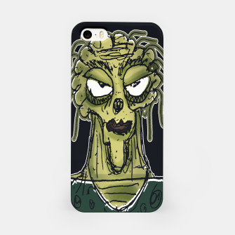 Thumbnail image of Ugly Monster Portrait Drawing iPhone Case, Live Heroes