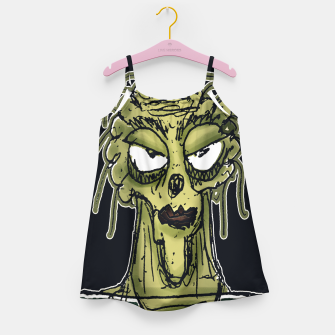 Thumbnail image of Ugly Monster Portrait Drawing Girl's dress, Live Heroes
