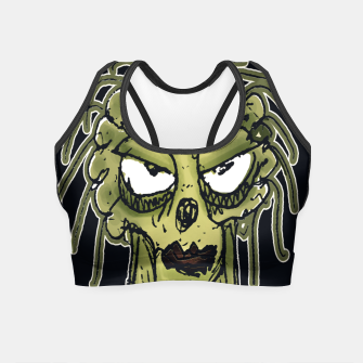 Thumbnail image of Ugly Monster Portrait Drawing Crop Top, Live Heroes