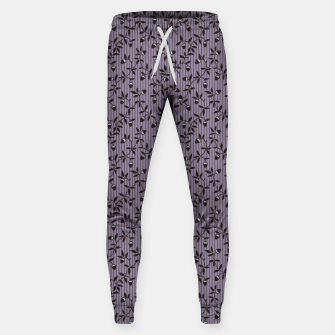 Thumbnail image of Ornate hazel branches in violet Sweatpants, Live Heroes
