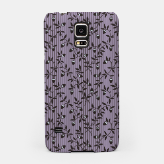 Thumbnail image of Ornate hazel branches in violet Samsung Case, Live Heroes