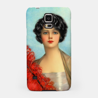 Miniature de image de The Red Feather by Earl Christy Samsung Case, Live Heroes