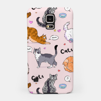 Thumbnail image of I love Cats Samsung Case, Live Heroes