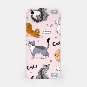 Thumbnail image of I love Cats iPhone Case, Live Heroes