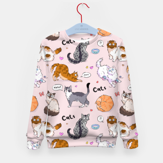 Thumbnail image of I love Cats Kid's sweater, Live Heroes