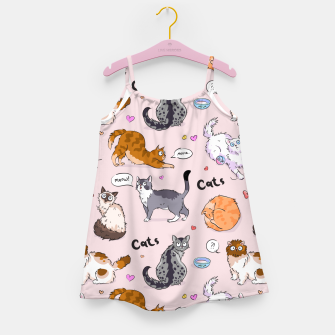 Thumbnail image of I love Cats Girl's dress, Live Heroes