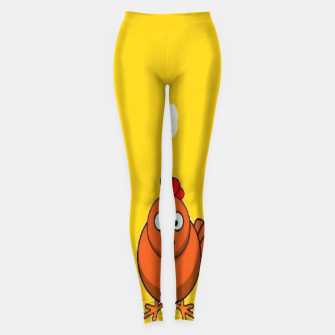 Thumbnail image of Chicken and eggs Leggings, Live Heroes