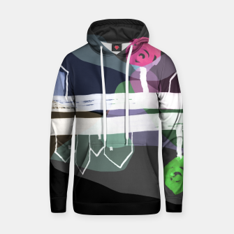 Thumbnail image of  Little Village by the Road Color at Night Hoodie, Live Heroes