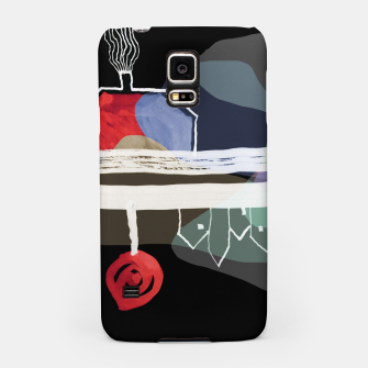 Thumbnail image of  Little Village by the Road Color at Night Samsung Case, Live Heroes