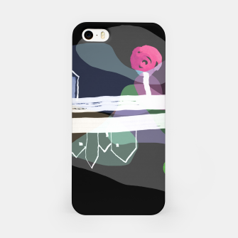 Thumbnail image of  Little Village by the Road Color at Night iPhone Case, Live Heroes