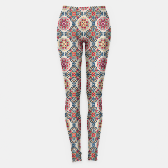 Thumbnail image of Oriental Heritage Traditional Moroccan Floral Style Leggings, Live Heroes