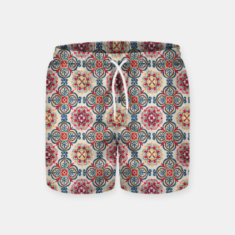 Thumbnail image of Oriental Heritage Traditional Moroccan Floral Style Swim Shorts, Live Heroes