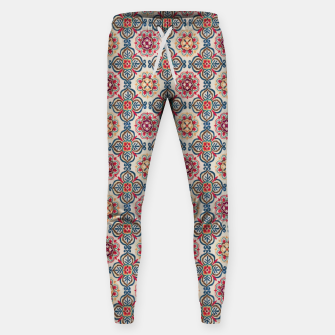 Thumbnail image of Oriental Heritage Traditional Moroccan Floral Style Sweatpants, Live Heroes