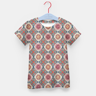 Thumbnail image of Oriental Heritage Traditional Moroccan Floral Style Kid's t-shirt, Live Heroes