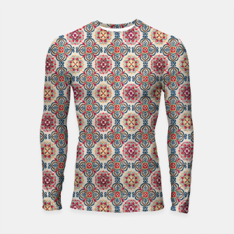 Thumbnail image of Oriental Heritage Traditional Moroccan Floral Style Longsleeve rashguard , Live Heroes