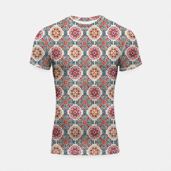 Thumbnail image of Oriental Heritage Traditional Moroccan Floral Style Shortsleeve rashguard, Live Heroes