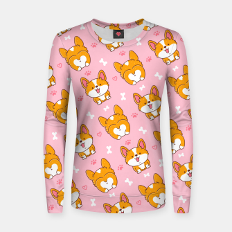 Thumbnail image of Cute Dog Women sweater, Live Heroes