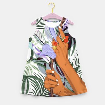 Thumbnail image of Merging Nature & Humanity Girl's summer dress, Live Heroes
