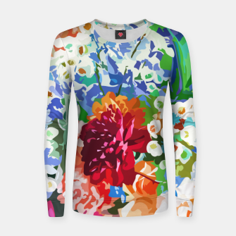 Thumbnail image of Bloom With Grace Women sweater, Live Heroes