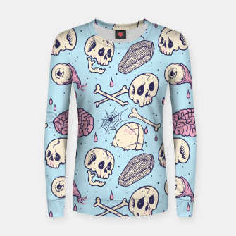 Thumbnail image of Horror Women sweater, Live Heroes