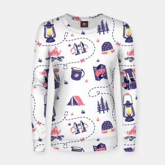 Thumbnail image of Camping Women sweater, Live Heroes