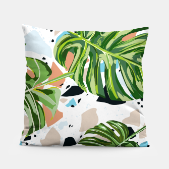 Miniature de image de And In Nature I Find The Missing Pieces Pillow, Live Heroes