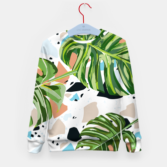 Miniature de image de And In Nature I Find The Missing Pieces Kid's sweater, Live Heroes