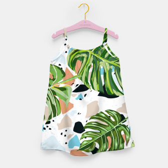 Miniature de image de And In Nature I Find The Missing Pieces Girl's dress, Live Heroes