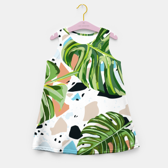 Miniature de image de And In Nature I Find The Missing Pieces Girl's summer dress, Live Heroes