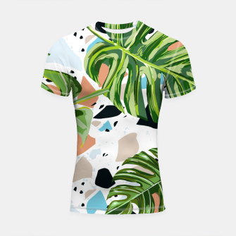 Miniature de image de And In Nature I Find The Missing Pieces Shortsleeve rashguard, Live Heroes