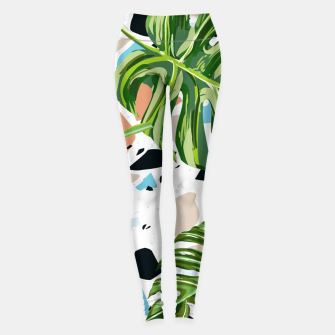 Miniature de image de And In Nature I Find The Missing Pieces Leggings, Live Heroes
