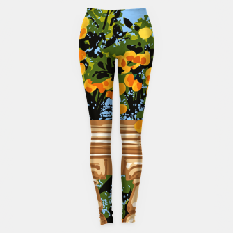 Thumbnail image of No matter what happens in the outside world Leggings, Live Heroes