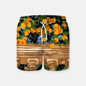 Thumbnail image of No matter what happens in the outside world Swim Shorts, Live Heroes