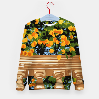 Thumbnail image of No matter what happens in the outside world Kid's sweater, Live Heroes