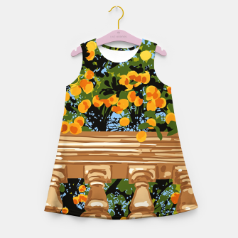 Thumbnail image of No matter what happens in the outside world Girl's summer dress, Live Heroes