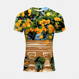 Thumbnail image of No matter what happens in the outside world Shortsleeve rashguard, Live Heroes