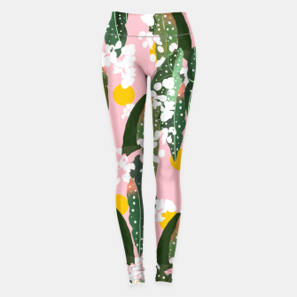 Thumbnail image of Turn your face to the Sun & the shadows follow behind you Leggings, Live Heroes
