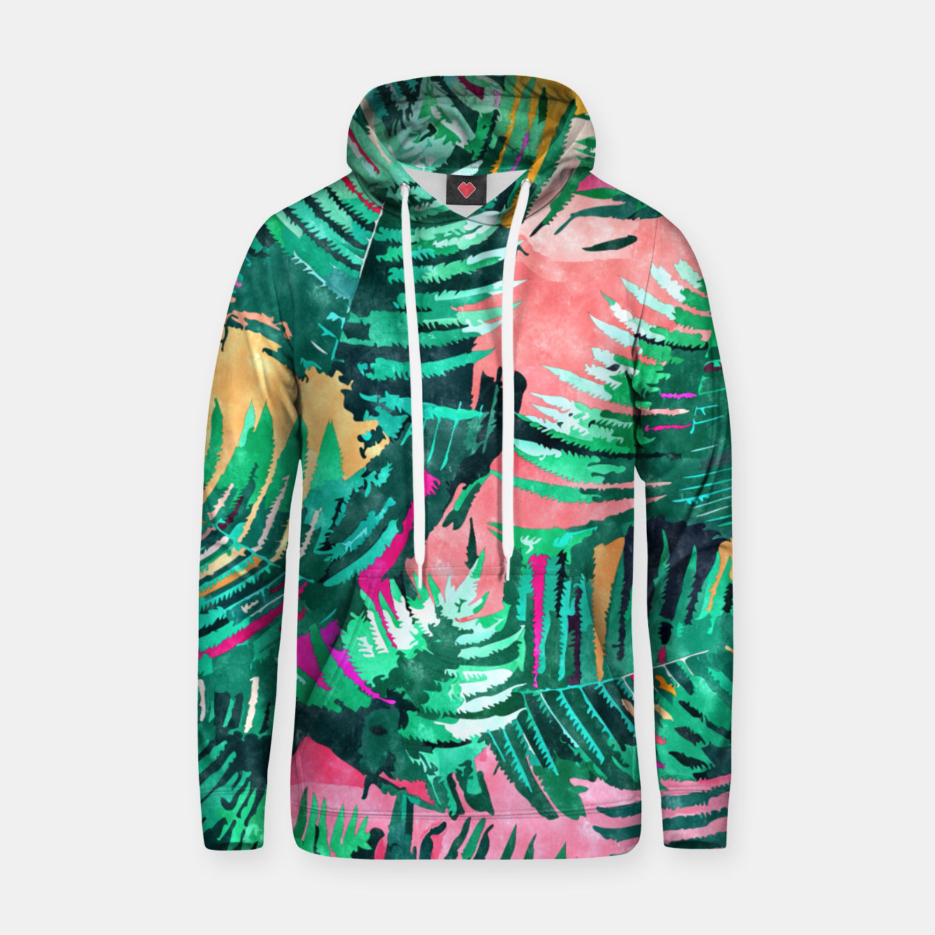 Image of I'm All About Palm Trees & 80 Degrees Hoodie - Live Heroes