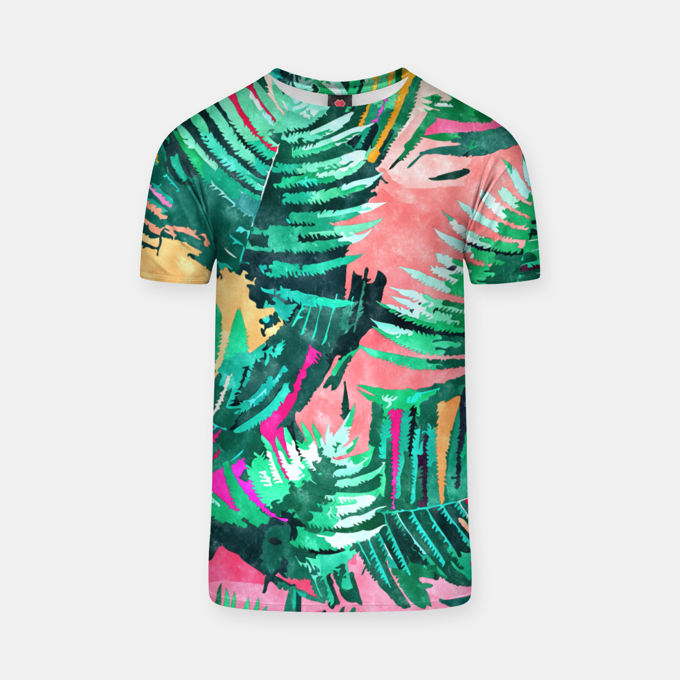Image of I'm All About Palm Trees & 80 Degrees T-shirt - Live Heroes